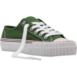 PF Flyers Center Lo Green/Green Canvas