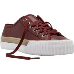 PF Flyers Center Lo Leather Oxblood Leather