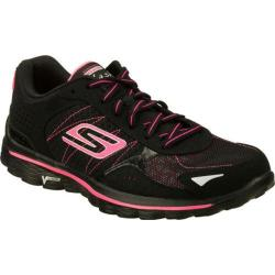 Women's Skechers GOwalk 2 Flash Black/Hot Pink