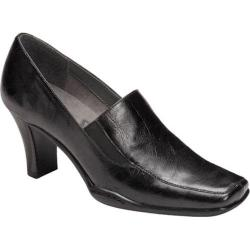 Women's A2 by Aerosoles Cinario Black Faux Leather