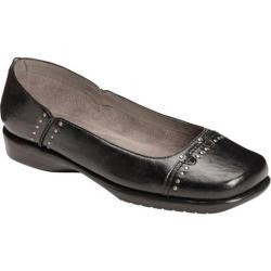Women's A2 by Aerosoles Maverick Black Faux Leather