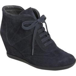 Women's Aerosoles Fitness Dark Blue Suede