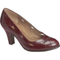 Women's Aerosoles In Shape Red Leather