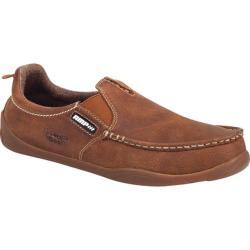 Men's Georgia Boot G050 Moc-Toe Oxford Tan Full Grain Leather