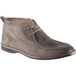 Men's Andrew Marc Dorchester Moc Mushroom/Black/Dark Natural/Natural Suede