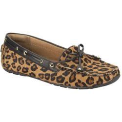 Women's Clarks Dunbar Cruiser Tan Leopard Leather