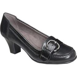Women's Aerosoles Arivederci Black Leather