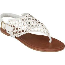 Women's Beston Ba-42 White Faux Leather