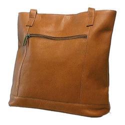 Women's David King Leather 1065 Shopper Tan