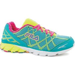 Women's Fila Dimension Track Energized Baltic/Safety Yellow/Pink Glo