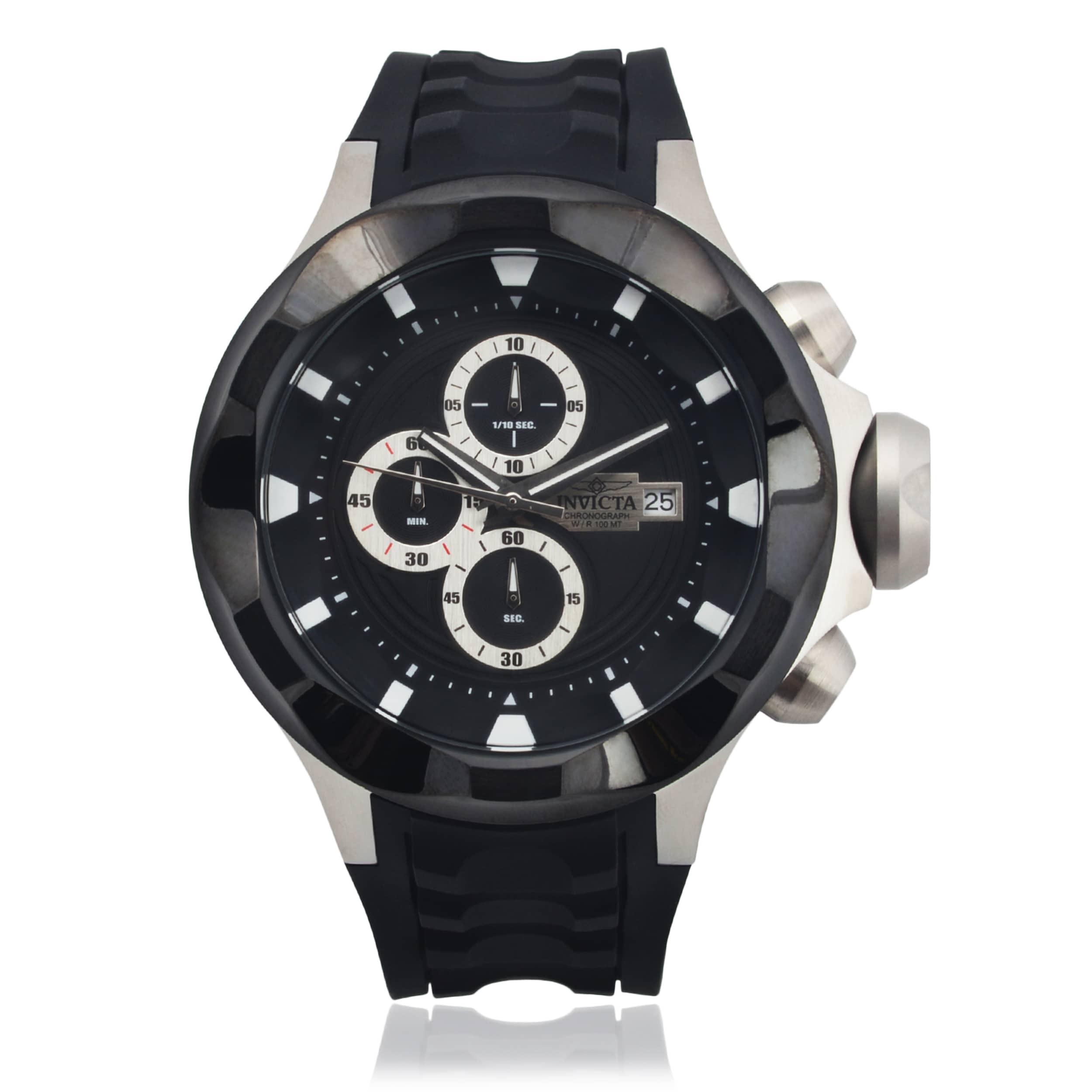 Invicta Men's 16896 Silicone 'I Force' Quartz Watch