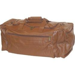 Scully Leather Large Duffle Bag Sierra Collection 804 Brown