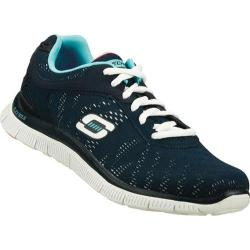 Women's Skechers Flex Appeal First Glance Navy/White
