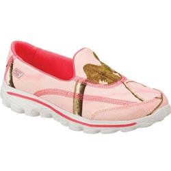 Girls' Skechers GOwalk 2 The Real Deal Pink