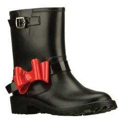 Girls' Skechers Raindrops Black/Red