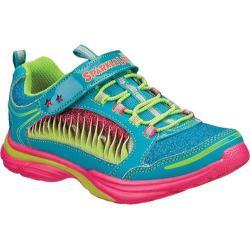 Girls' Skechers Sparkle Lites Lite Kick II Twisty Kicks Blue/Multi