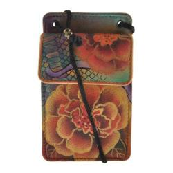 Women's Anuschka Phone/Camera Case/Wallet On A String Python Bloom
