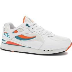 Men's Fila Overpass White/Red Orange/Biscay Bay