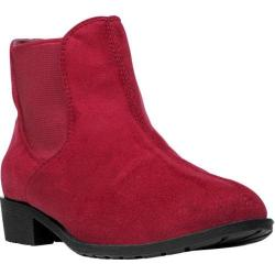 Women's Propet Scout Red Velour