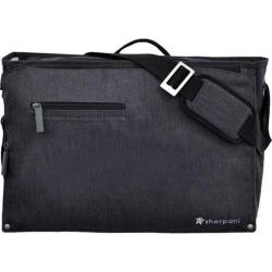 Women's Sherpani Presta Large Commuter Messenger Heathered Black