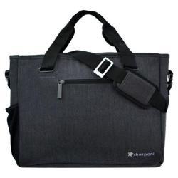 Women's Sherpani Priya Professional Laptop Tote Bag Heathered Black