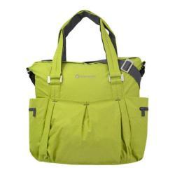 Women's Sherpani Wisdom Yoga Tote Bag Chartreuse