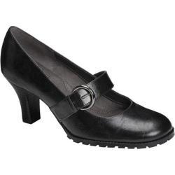 Women's Aerosoles Missle Black Faux Leather