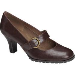 Women's Aerosoles Missle Brown Faux Leather