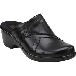 Women's Clarks April Bayberry Black Leather