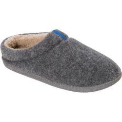 Men's Dearfoams Boiled Wool Clog Grey