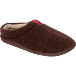 Men's Dearfoams Boiled Wool Clog Coffee