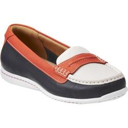 Women's Clarks Cliffrose Enza Navy/Red/White Leather