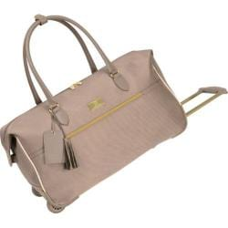 Women's Anne Klein Madrid 22in Wheeled City Bag Champagne