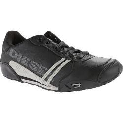 Men's Diesel Harold Solar Leather Black/Flint Gray
