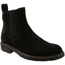 Men's Bass Redstone Black Bronx Leather