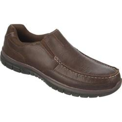 Men's Dr. Scholl's Epic Brown Derby Dakota Leather/Mesh