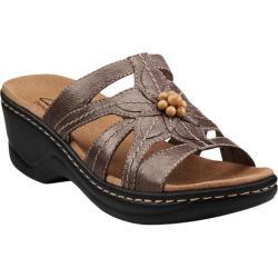 Women's Clarks Lexi Myrtle Pewter Full Grain Leather