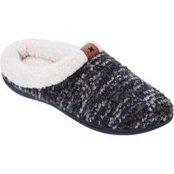 Women's Dearfoams Bouclé Knit Clog Black