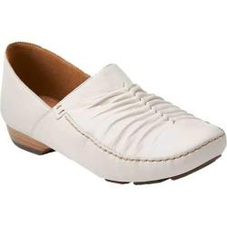 Women's Clarks Fara Adele Off White Leather