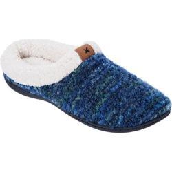 Women's Dearfoams Boucl� Knit Clog Blue