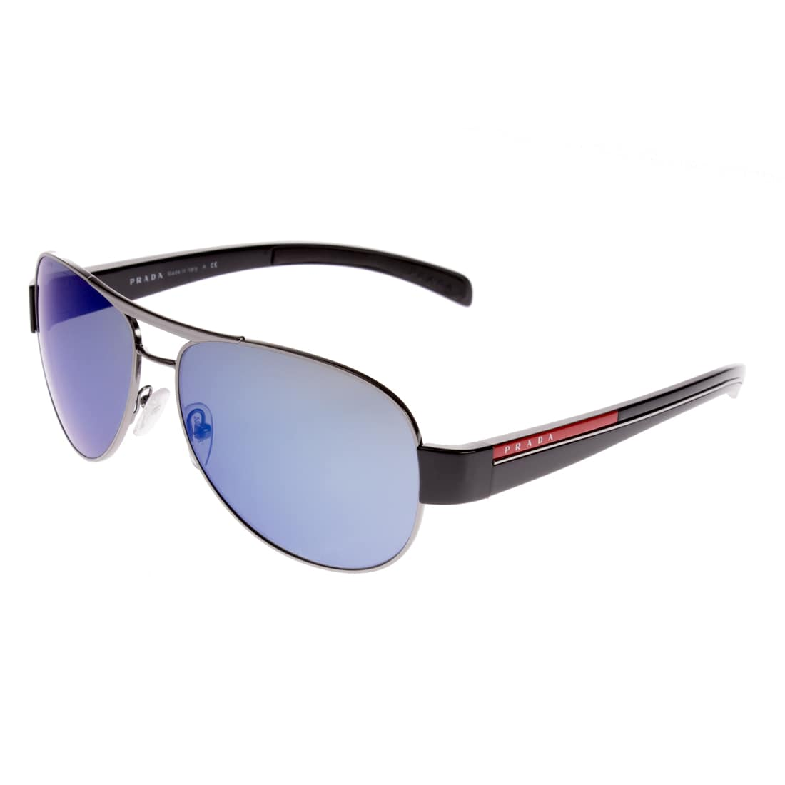 Prada Unisex PS51LS 5AV9P1 Aviator Sunglasses