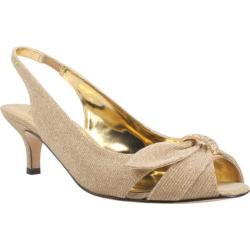 Women's J. Renee Slader Gold Fabric