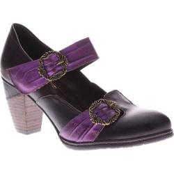 Women's L'Artiste by Spring Step Delany Brown Multi Leather