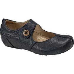Women's Aetrex Monica Mary Jane Black Leather