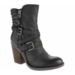 Women's Steve Madden Raleighh Black Leather