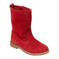Girls' Hanna Andersson Karla Apple Red Suede