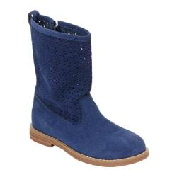Girls' Hanna Andersson Karla Blue Thunder Suede