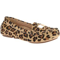 Women's Vionic with Orthaheel Technology Sydney Driver Tan Leopard