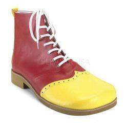 Men's Funtasma Clown 01 Yellow/Red PU