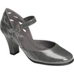 Women's Aerosoles Much Ado Dark Gray Patent Leather
